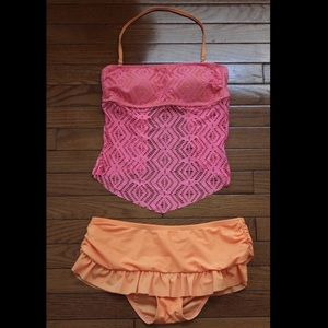 Other - Pink and orange bathing suit